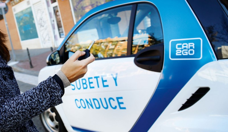 How it works Car2go