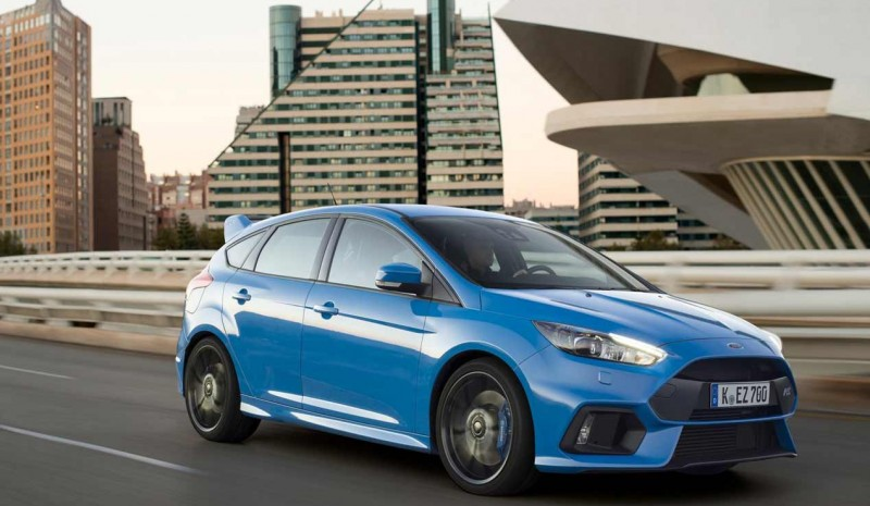The Ford Focus RS 2016 tested