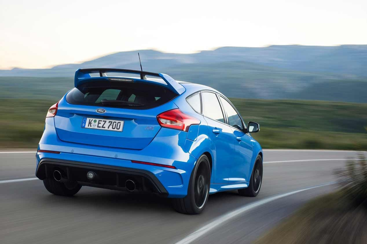 2016 Ford Focus RS test