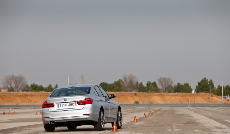 BMW 320d test, with good sports skills