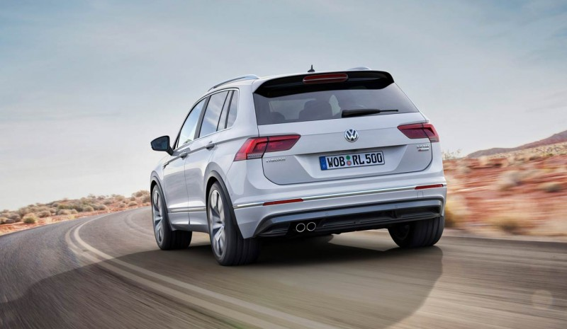 The three SUV Volkswagen Group: Ateca Seat, Skoda and VW Tiguan S Vision