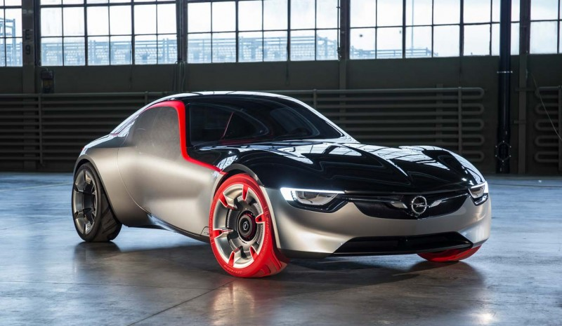 Opel GT Concept, prøv futuristiske to-seters sports