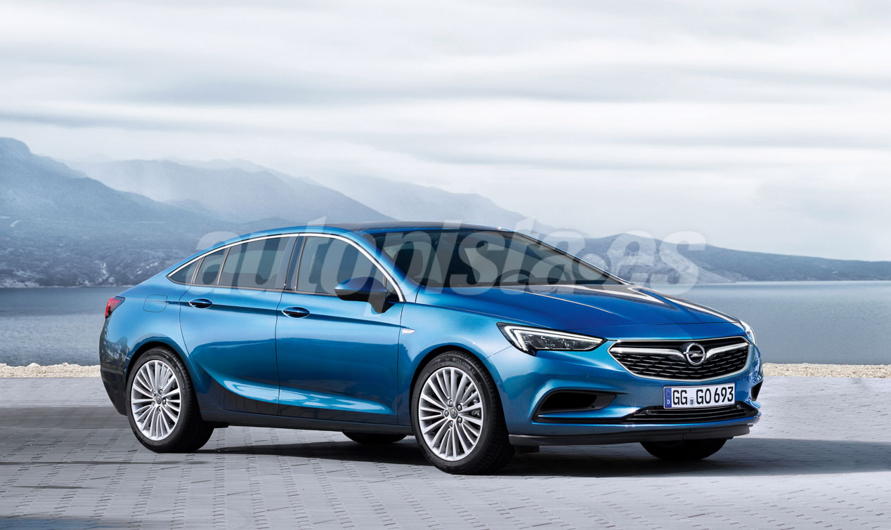 Nouvelle Opel Insignia 2017