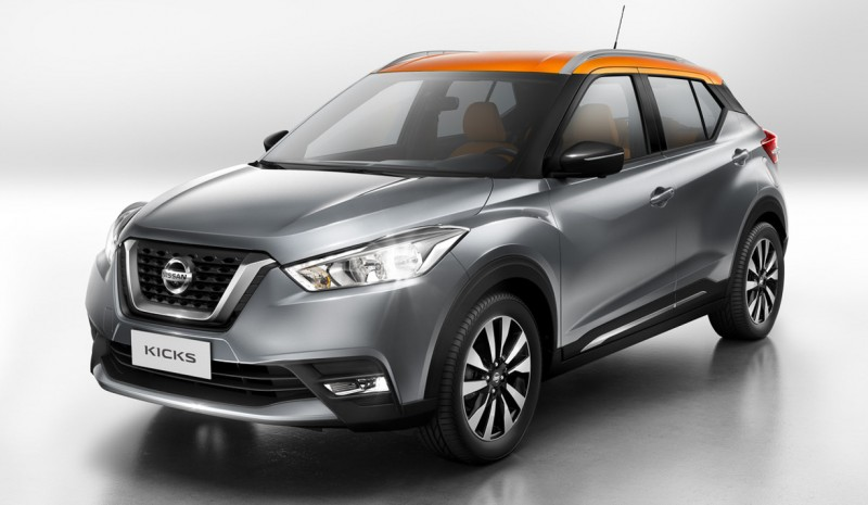 Nissan Kicks, another new SUV Japanese