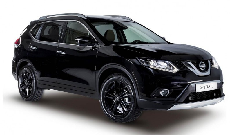 Nissan Qashqai og X-Trail Black Edition Limited Edition