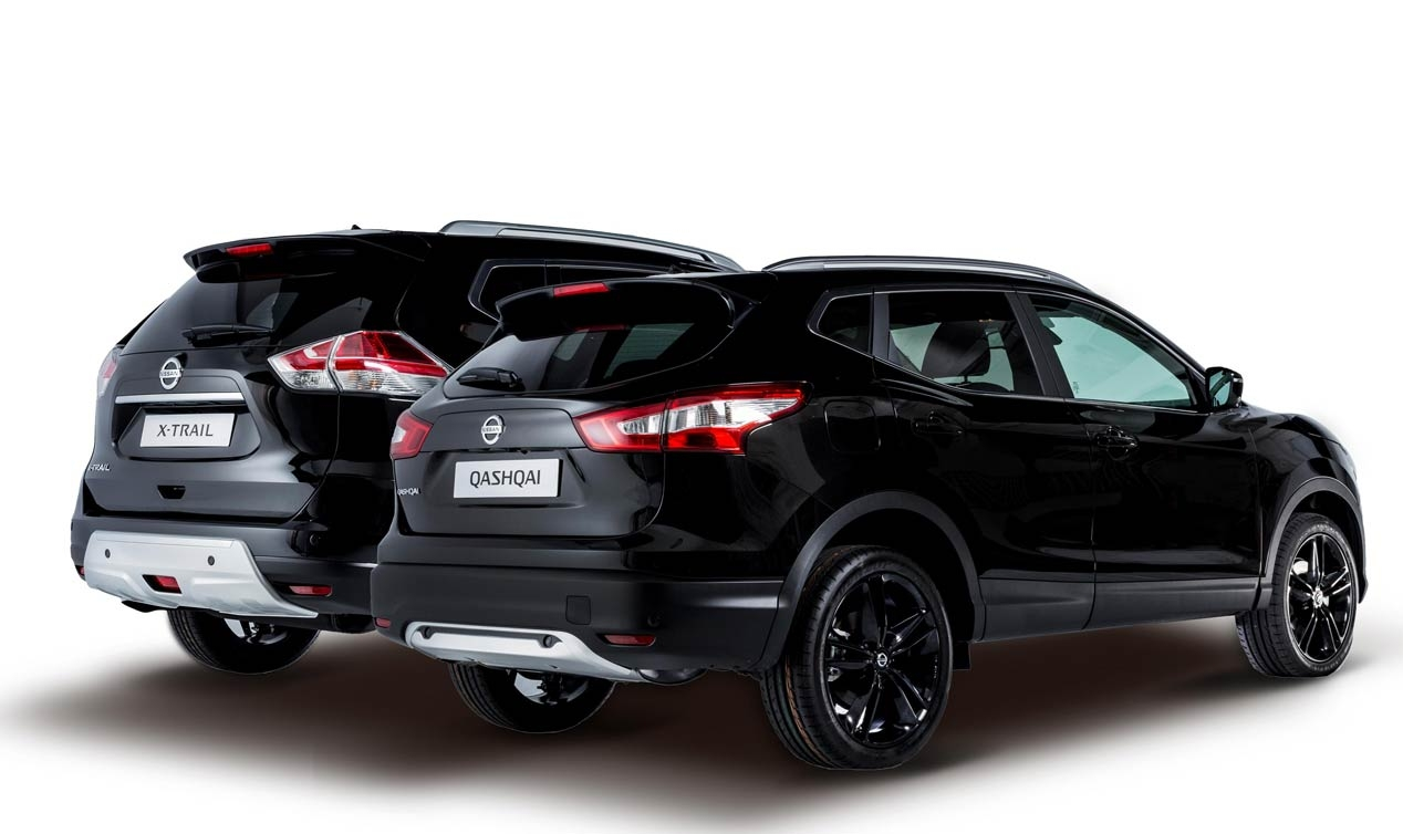 Nissan Qashqai og X-Trail Black Edition