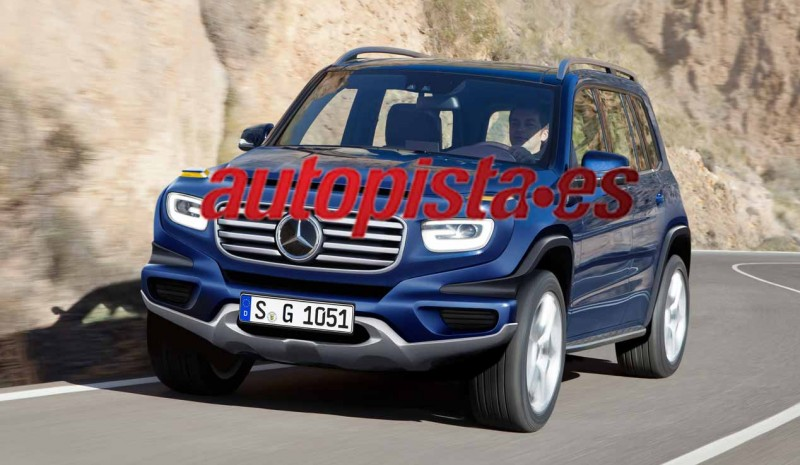 Mercedes Mercedes GLA GLB 2018 and 2017, first pictures