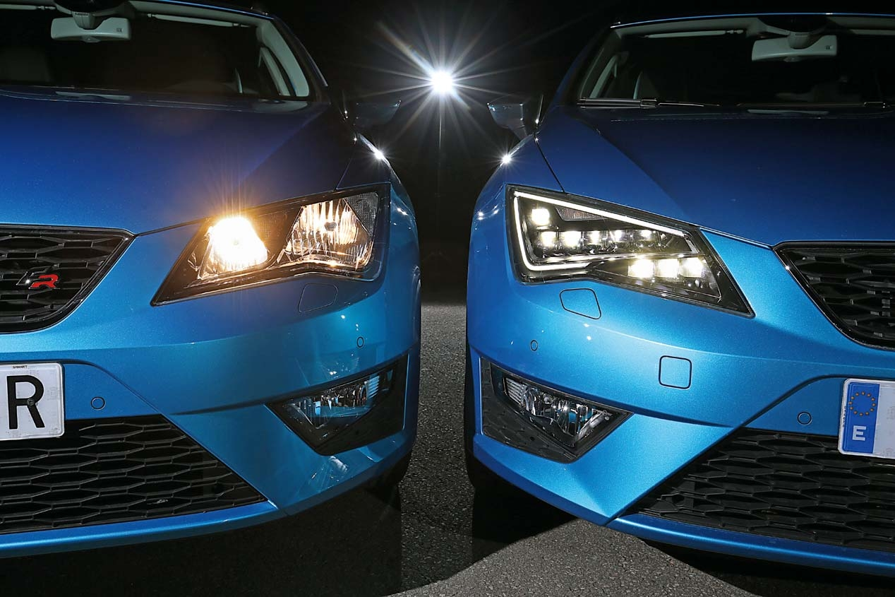 Halogen Light Vs Led >> Lighting systems in the car: halogen, LED or Xenon?