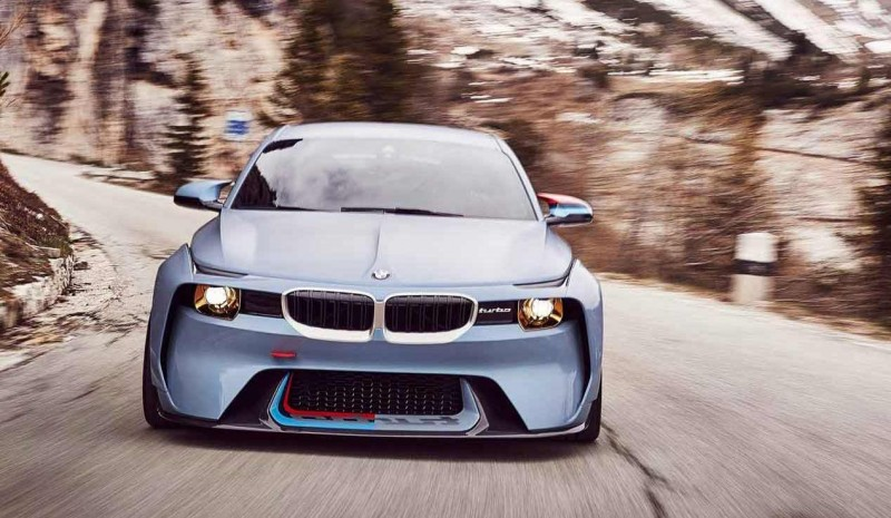 BMW 2002 Turbo 2002 Hommage Concept front