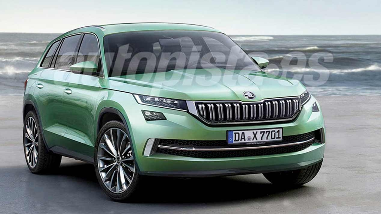 skoda 4x4 the new kodiaq scout and yeti. Black Bedroom Furniture Sets. Home Design Ideas