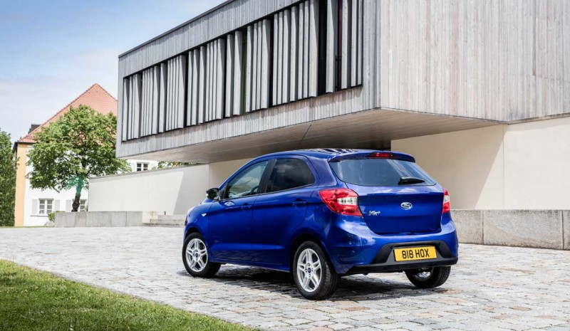 Ford Ka + 2016: low cost car Ford