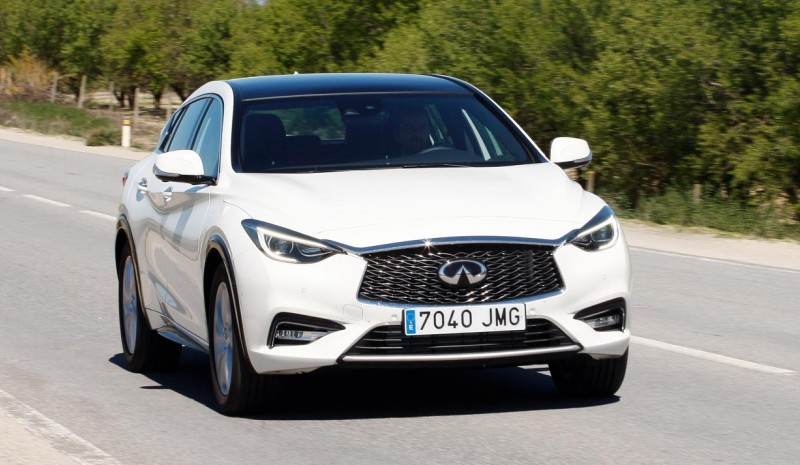 Test: Infiniti Q30 1.5D, en øvelse dristighed
