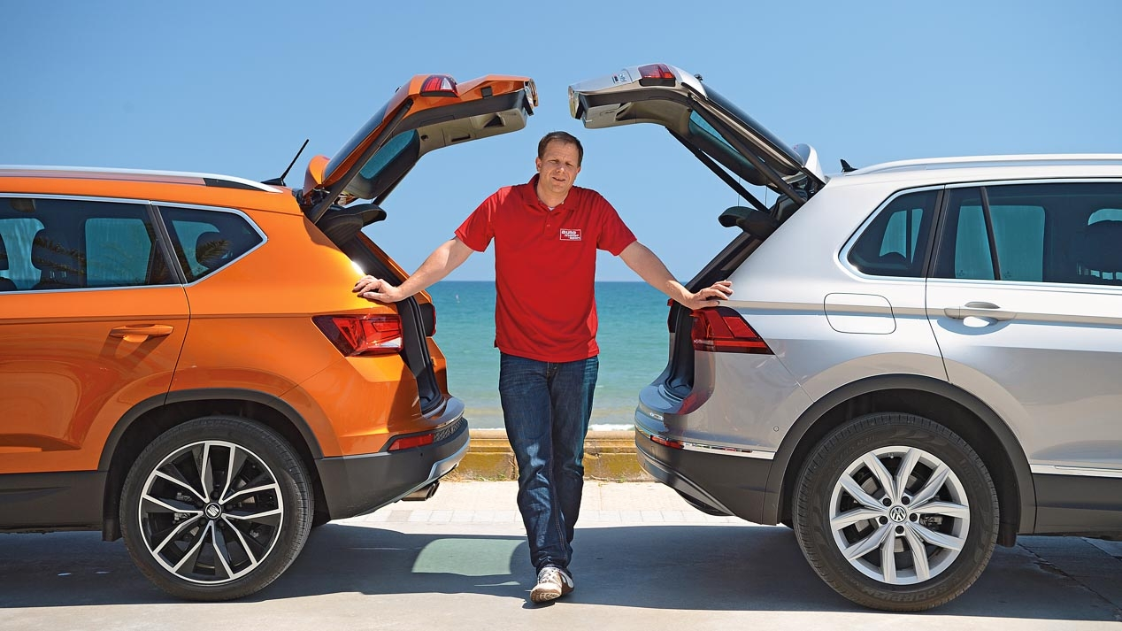 VW Tiguan and Seat Ateca