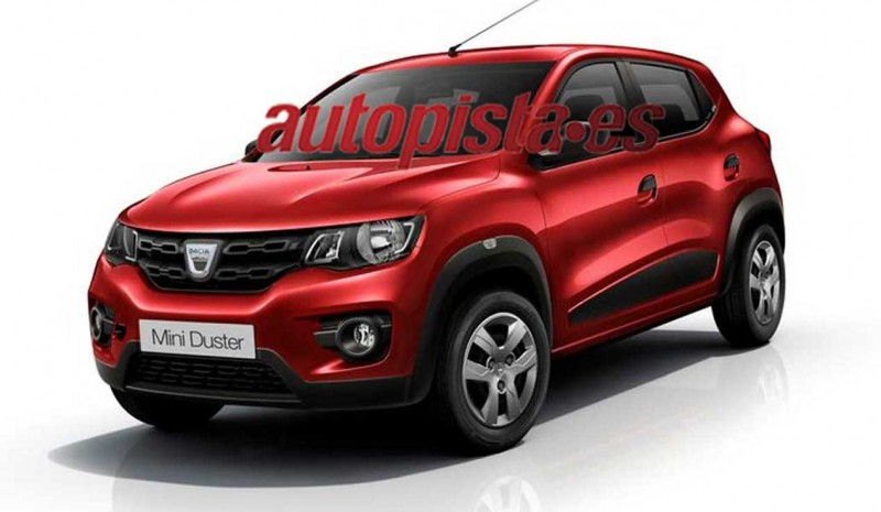 Dacia Mini Duster Will Be A Reality In 2018