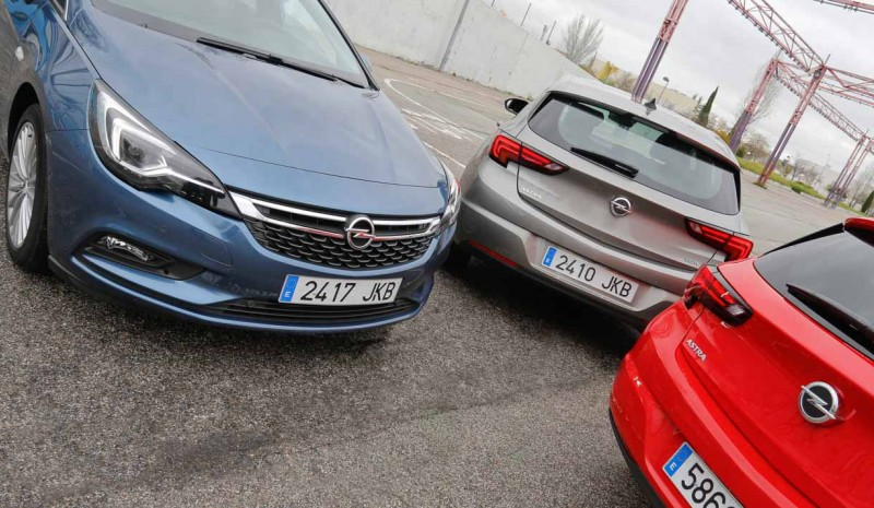 Astra range, performance and fuel consumption