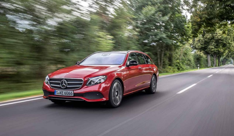 Test Mercedes Classe E Break