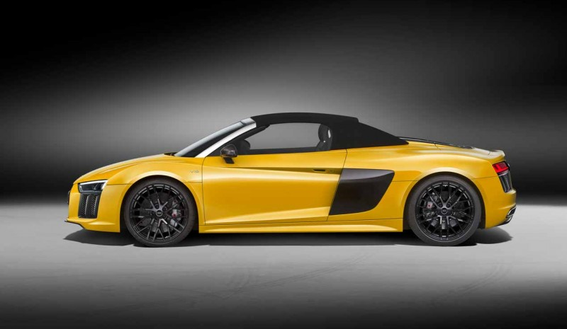 Audi begon marketing in Spanje Audi R8 Spyder