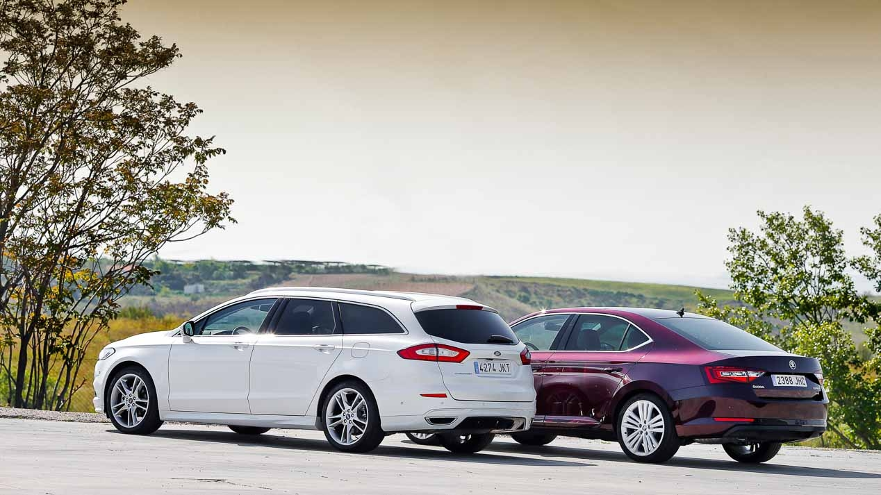 Ford Mondeo e Skoda Superb