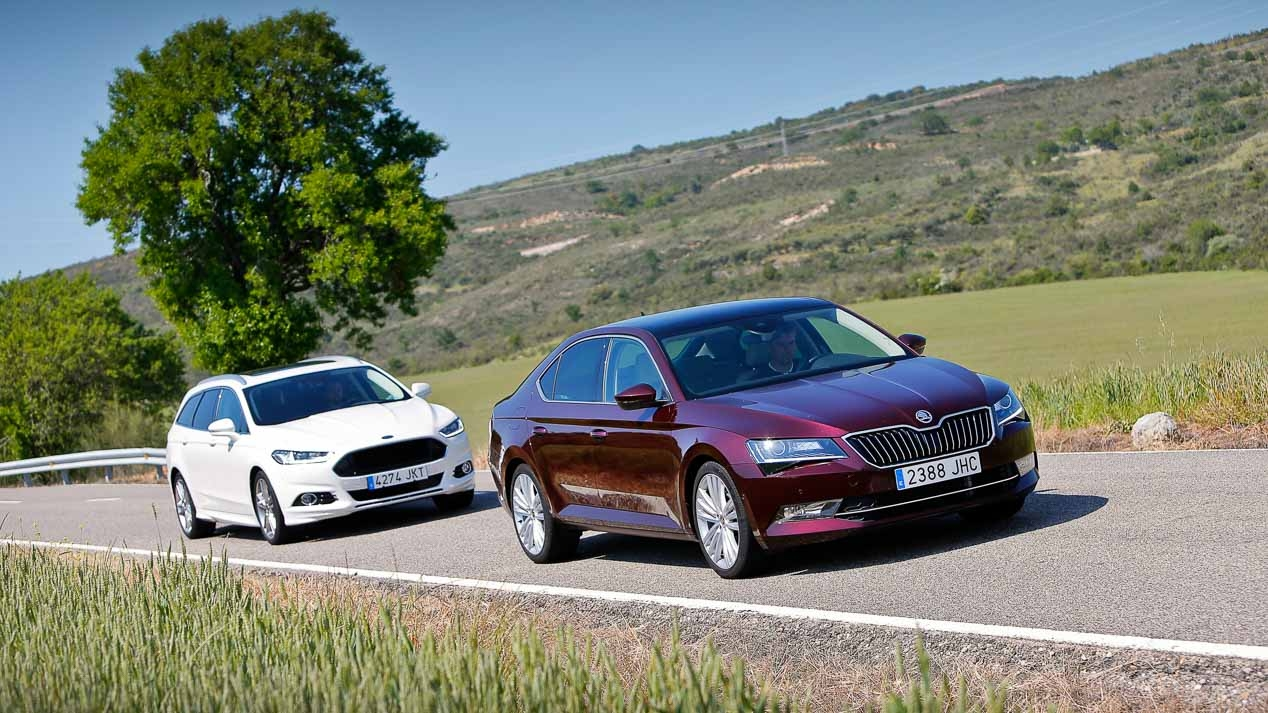 Skoda Superb e Ford Mondeo