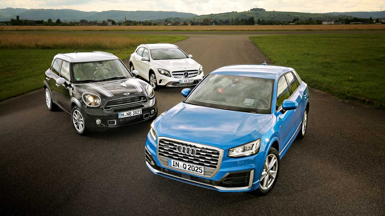 Audi Q2 and rivals