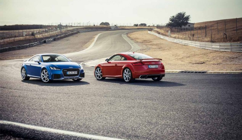 2017 Audi TT RS, de test et les photos