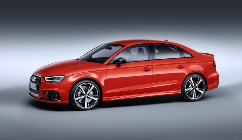 Audi RS 3 Sedan: all photos of new sports