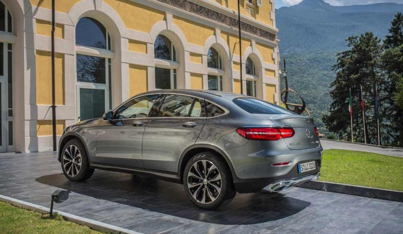 GLC Mercedes 4MATIC Coupe 250d