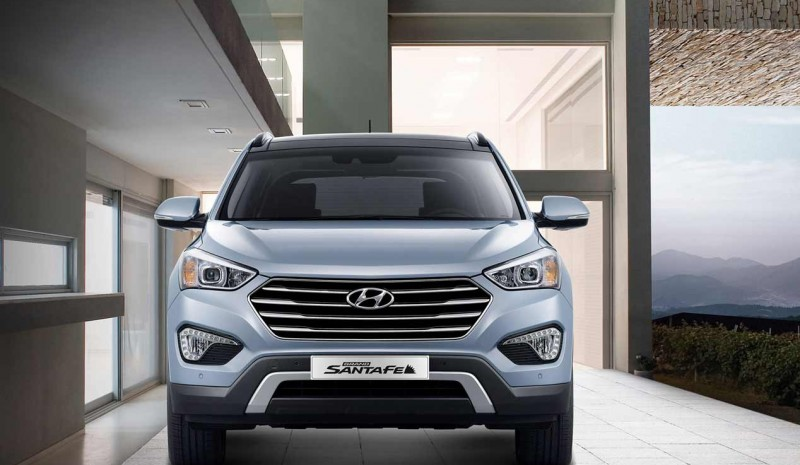 Hyundai's SUV range -Tucson, Grand Santa Fe and Santa Fe in pictures