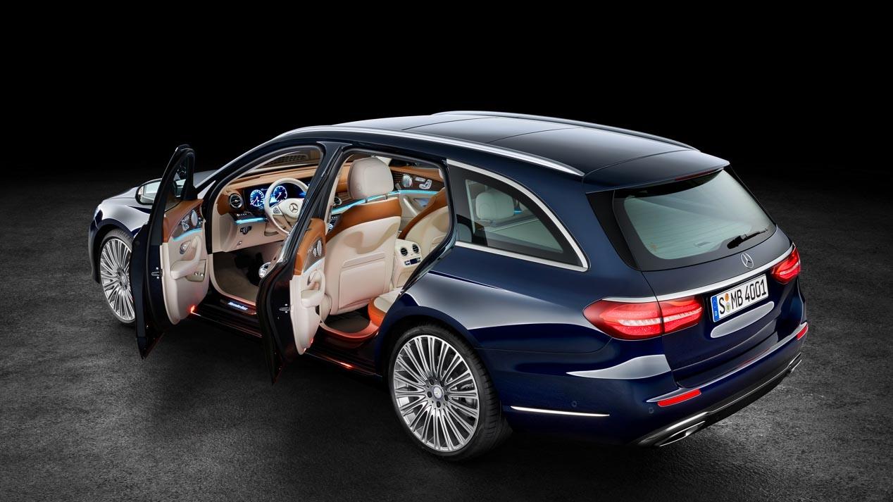 mechanical equipment and developments in the Mercedes E-Class