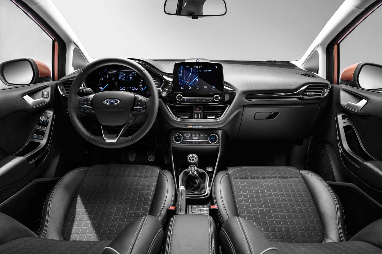 All'interno Ford Fiesta 2017