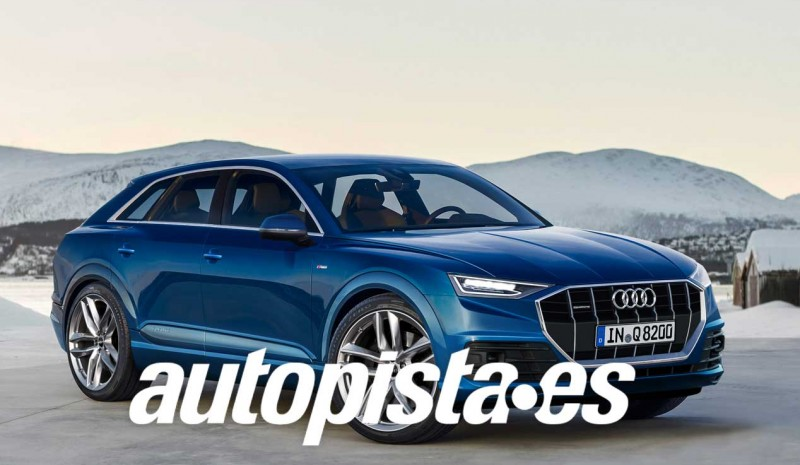 Audi Q8 2017, first pictures