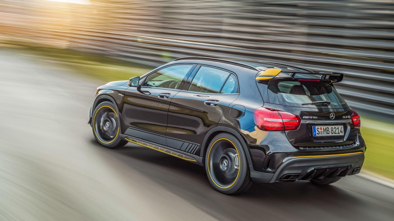 New Mercedes GLA