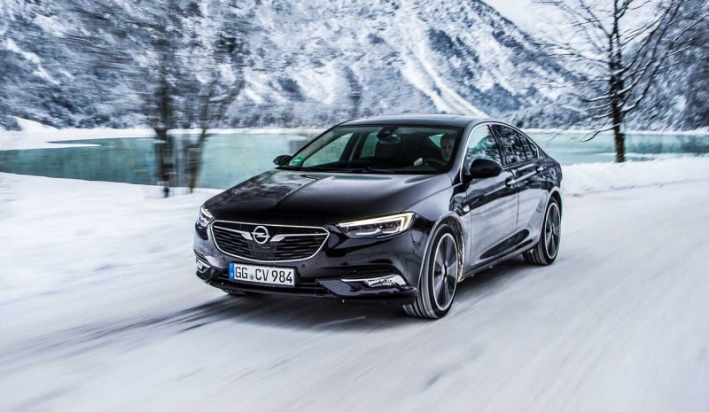 The new Opel Insignia with intelligent AWD