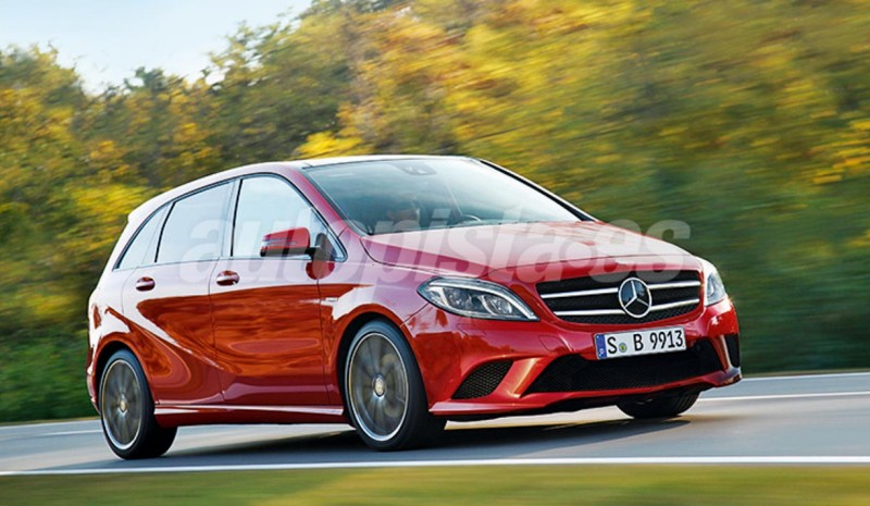 All Mercedes to arrive: compact sedans and family