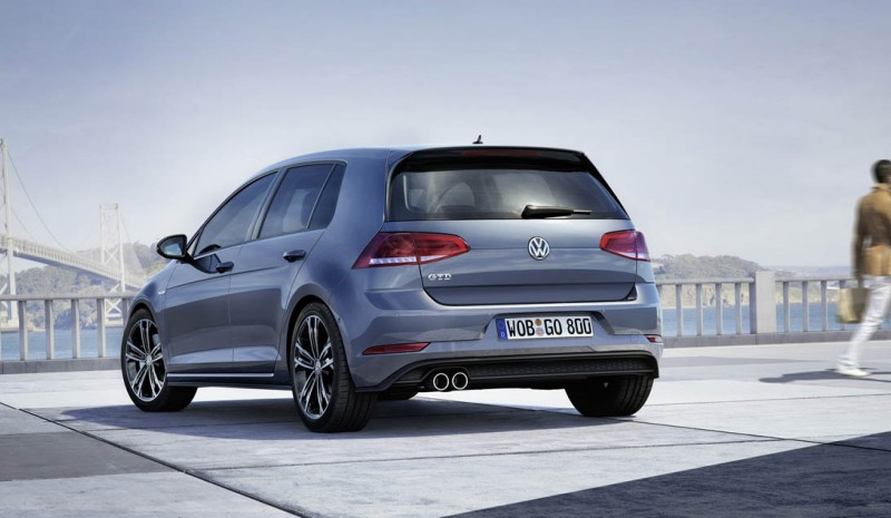 The Volkswagen Golf GTD GTE and 2017 and accepted reservations in Europe