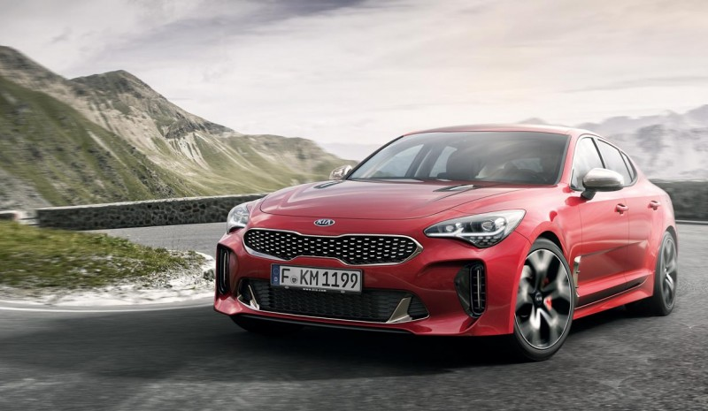 Kia Stinger, de hatchback coupe mode