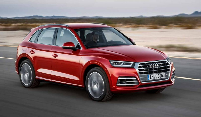 Now on sale the Audi Q5 cheaper