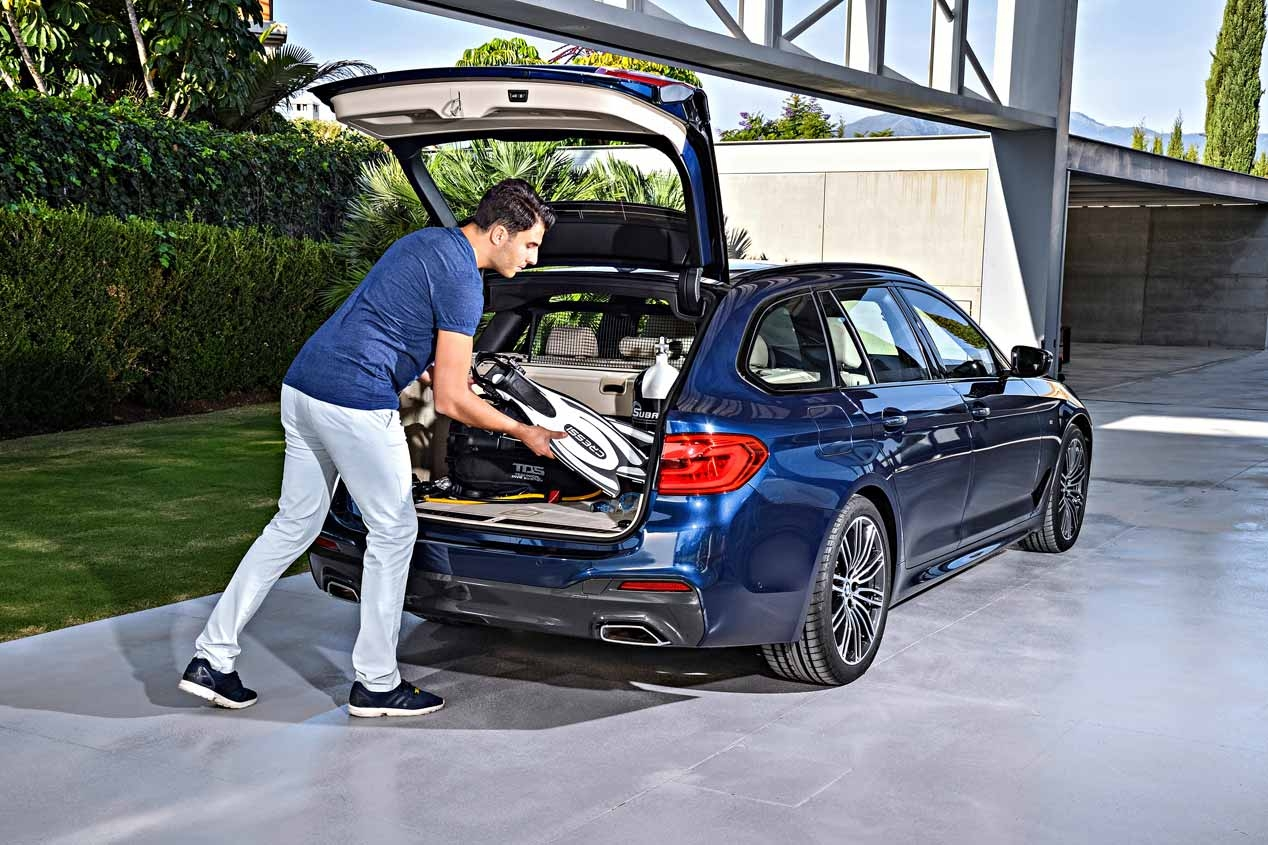 2017 BMW 5-serie Touring familie