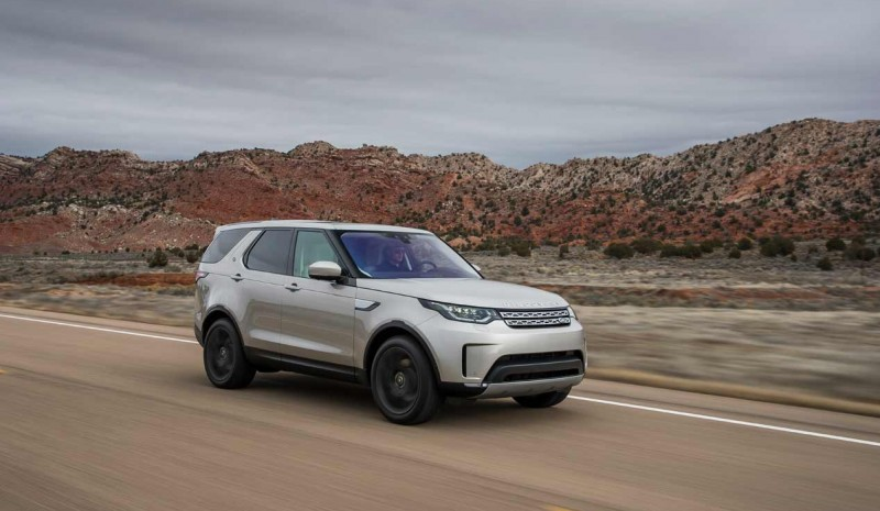 Land Rover Discovery 2017 testet