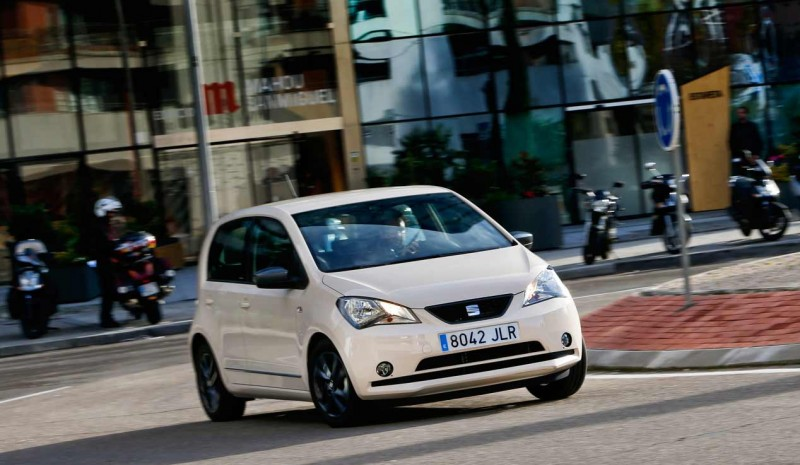 Seat Mii CNG EcoFuel natural gas, proof