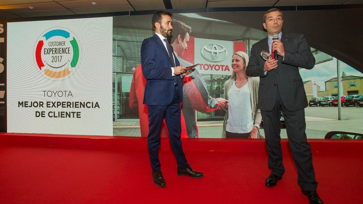 Toyota Customer Experience Award