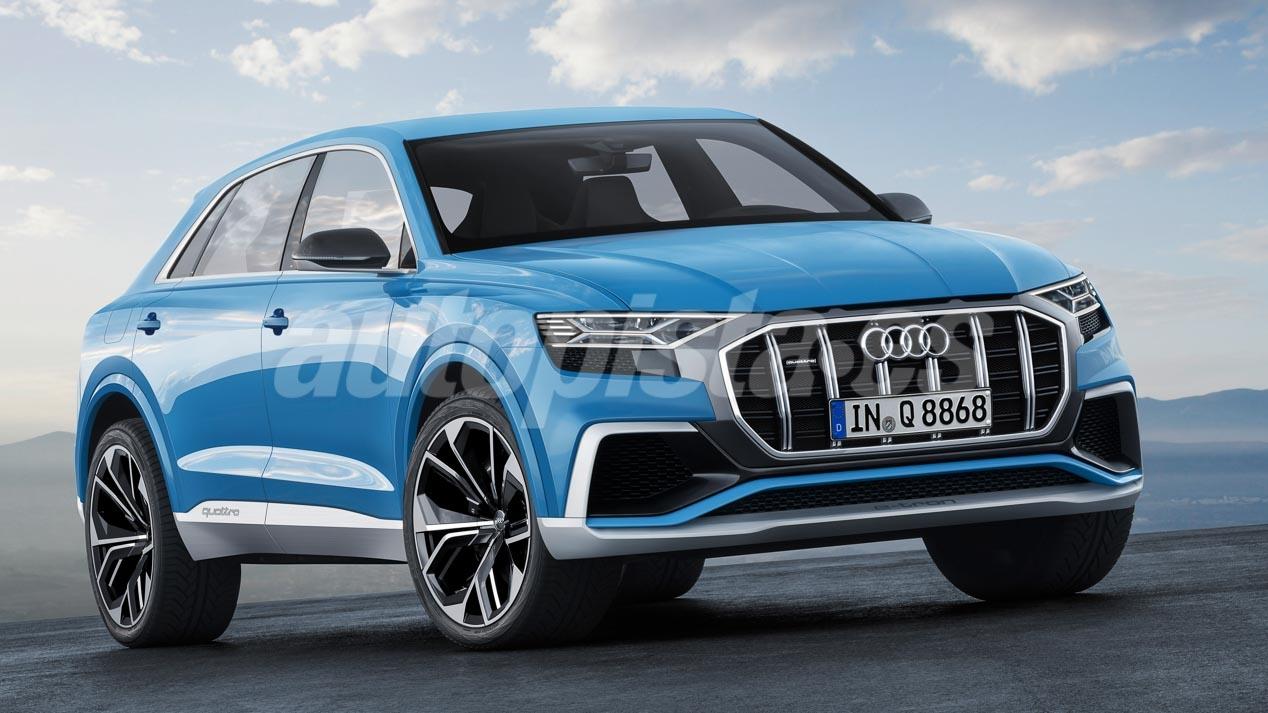 Suuret Uusi Suv Tulevaisuuden Bmw X7 Audi Q9