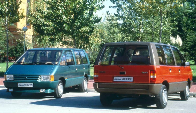 Renault Espace: the pioneer car from a familiar idea