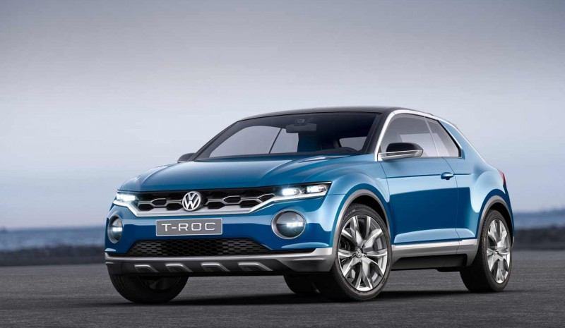 2018 VW T-Roc countdown to the new German SUV