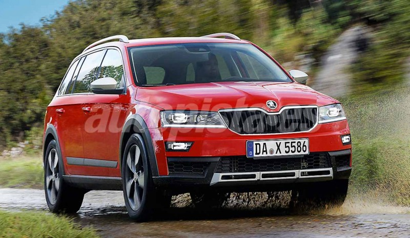 Skoda Karoq: so the replacement for the SUV will be called Yeti