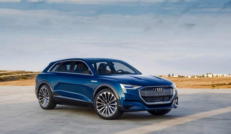 Audi E-tron Quattro 2018, photos of the new electric SUV
