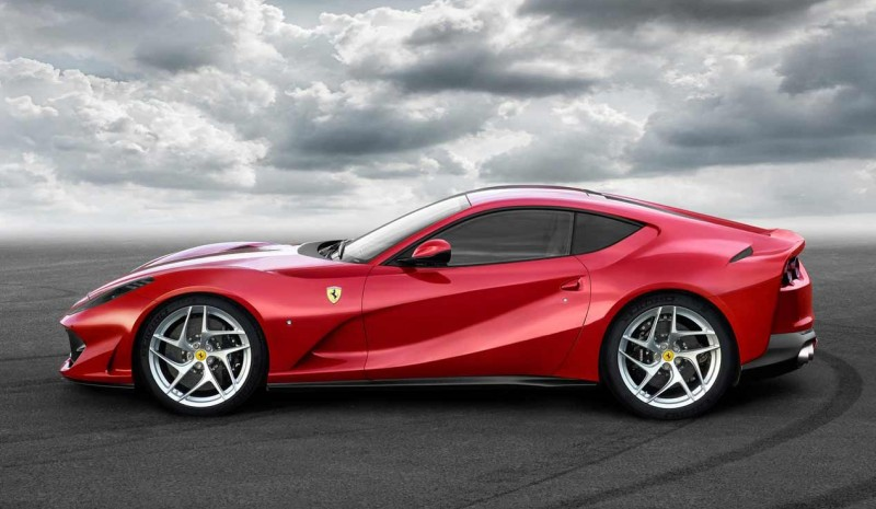 Ferrari 812 Superfast: maintenant disponible le nouveau bijou de sport