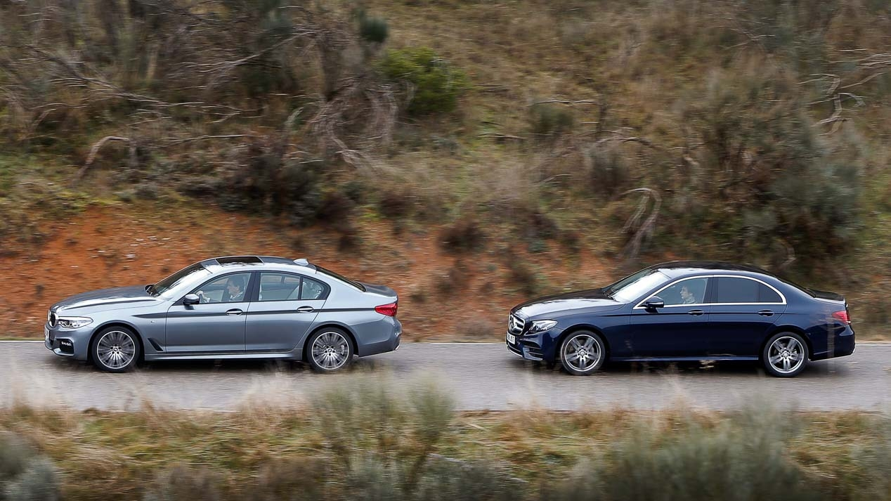 BMW 220d vs Mercedes E 520D