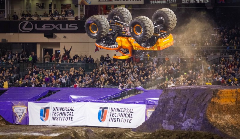 The Monster Jam returns to Spain a year