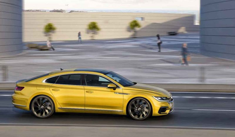 The new VW Arteon, now on sale